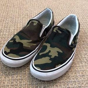 Vans Camo Slipon Sneakers